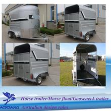 Economic 2 horse trailer straight load horse trailer