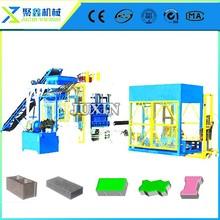 fly ash brick production line/new block making machine/brick machinery ,QT10-15 block machine