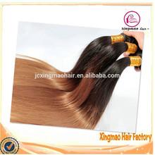 2015 Wholesale Cheap Body Wave Brazilian Human Hair Ombre Hair Extension