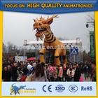 High-tech fiberglass animatronic animal horse dragon model
