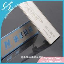 Auto adhésif plaques de métal, décoratifs plaques en métal de mode