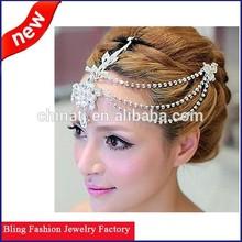Factory Directly Sale And New Arrival Handmade Wedding Bridal Headpiece Wedding Tiaras Bridal headpiece
