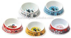 Hot selling Melamine Small Dog bowl