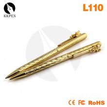 Jiangxin novelty metal metal body ballpoint pens for success person