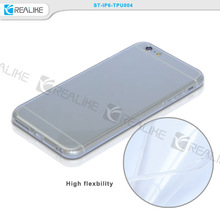 2015 smart phone transparent tpu case,clear case cover,tpu flexible clear back cover for iphone 6 4.7 inch