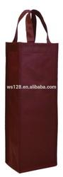 Non-woven fabric Single Bottle Wine Tote