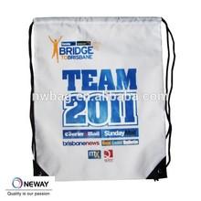 Drawstring Backpack Cinch Sack School Tote Bag Sport Pack