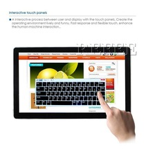 Refee SD slot and USB port,WIFI,RJ45,led touch screen display