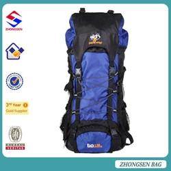 Travel outdoor camping hiking backpack use waterproof hiking backpack