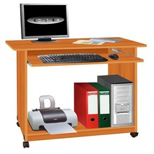 Hot Sale Panel Computer Desk Wood Laptop Table Cheap Computer Table