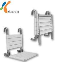 di alta qualità materiale anti batterico bagno doccia sedile pieghevole pieghevole