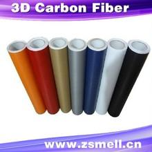 high quality carbon 3d film / 3d carbon fiber vinyl car / 3d carbon