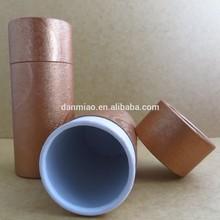 cosmetic set custom paper cardboard tube for perfume
