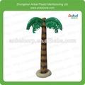 Inflável de plástico decoração palmeiras