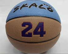 Standard size and weight cheap laminated PVC basketballs
