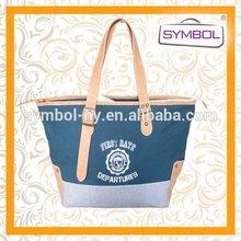 Top grade exported canvas shopping bag fashion canvas bag