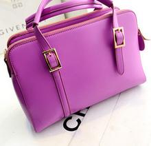 Stylish cheap fashion brands PU handbag alibaba supplier shoulder bag