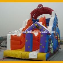 Inflatable Spiderman Castle Slide