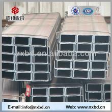 Steel Strength China Weight U Channel Steel