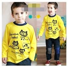 C28332A Child Boy Printed T shirts