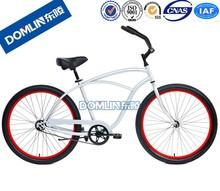 DOMLIN 2015 hot selling 26 inch chopper beach cruiser bicycles