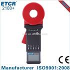 ISO CE ETCR2100+ Clamp Earth Resistance Tester digital multimeter brands