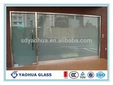best price sliding door curtain wall laminated glass price