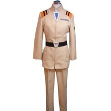 Neon Genesis Uniform beige Cosplay Costume 2
