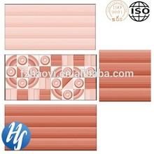 HY14-1522 Chinese 3D inkjet printing lighting red colour interior lanka bathroom ceramic floor and wall tiles