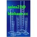 Cristal Boro3.3 graduado cilindros para laboratorio de química de medición
