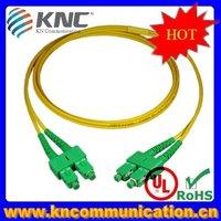 high quality single mode multiple mode fiber optic jumper cable