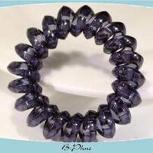 Spiral loop latest design fashion jewelry mini elastic hair bands