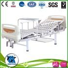 Foldabled bed metal medical bed manual adjustable bed