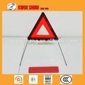 ccc e4 e ec ts16949 certificated carro de emergência de aviso de tráfego triângulo