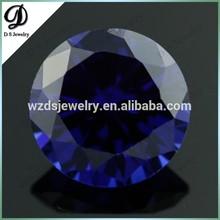 Loose Round Blue Tanzanite Stones for Sale In Wuzhou