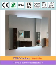 wall mounted light mirror frame
