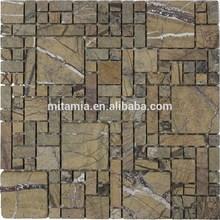 stile ripristinare antiche vie pareti esterne piastrelle di pietra