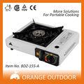 dupla fonte de alimentação do queimador de alumínio grelha de ferro fundido fogão a gás