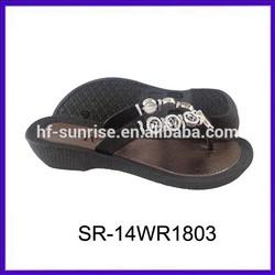 SR-14WR1803 girl's high heel shoe women wedges shoes casual fashion shoes