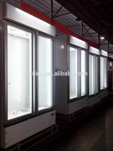LED Supermarket freezer Portable Industrial freezer size 1220*665*2120mm