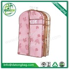 Manufacturer makes nonwoven zippered travel garment bag for wholesale