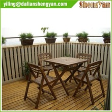 Modern Wooden Outdoor Furniture Garden Furniture for Table&Chair