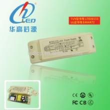 30w isolating driver for led tube lamp, external ac dc led inverter , output current range 660-950mA led driver