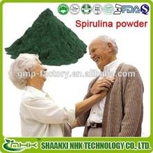 2015 china golden factory supply 100% natural nutritional supplements organic spirulina powder