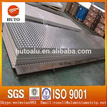 China Supplier 1050 1060 Factory Price Five Bars Aluminium Skid Checker Plate