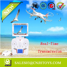 X6DV 2015 New 2.4G Quadcopter With HD Camera And Real Time Transmission RC Drone FPV HD Transmitter