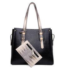 python snake leather handbag