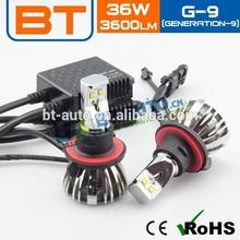 Best Quality Led H4 Car Headlight Bulbs 12v H4 9004 9007 H13 Hi/Lo 3600LM 36w 24v Car Led Headlight Led H4