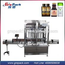 automatic chemical liquid filling machine for laminate flooring cleaner