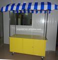 simple y carro móvil de alimentos para la venta